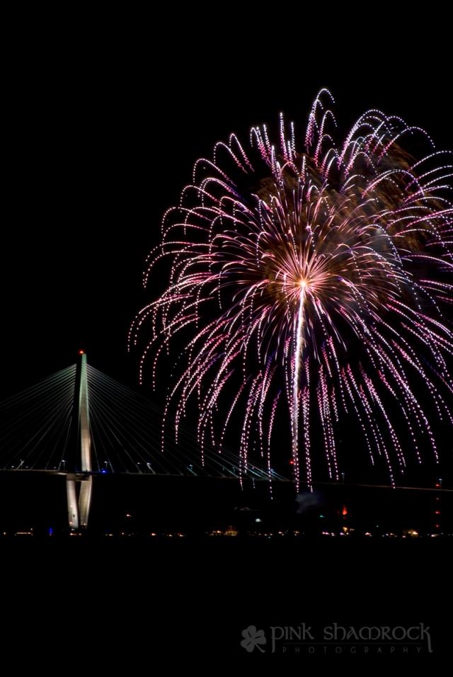Charleston fireworks