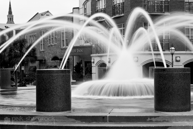 Splash Fountain in downtown Charleston