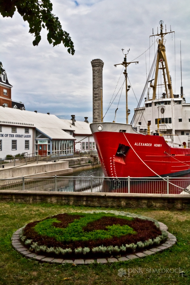 The Alexander Henry, a former icebreaker for the Canadian Coast Guard.