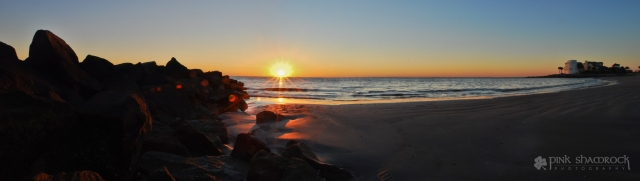 Sunrise at Breach Inlet, located just north of Charleston, SC between Sullivan's Island and Isle of Palms.