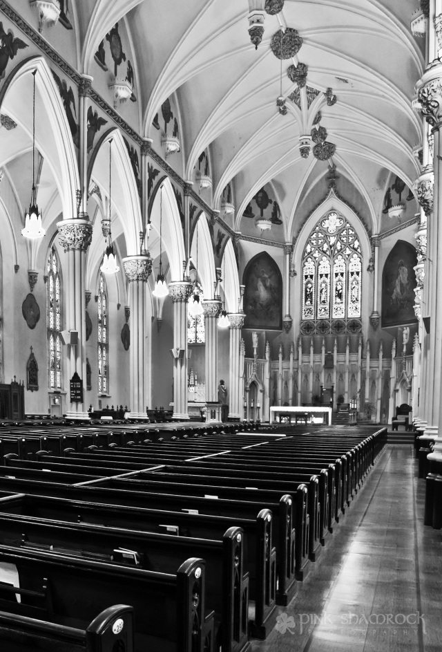 The Cathedral of Saint Mary of the Immaculate Conception in Kingston, Ontario.