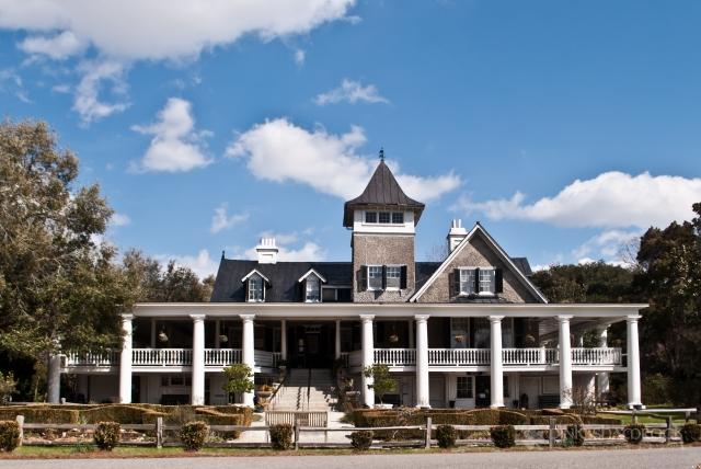Magnolia Plantation House in Charleston, SC.