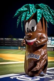 """Bark"" - Secondary mascot for the Charleston Riverdogs."
