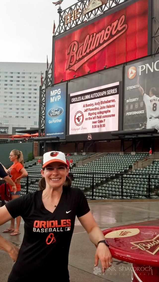 """""""Happy Birthday to Me"""" - Celebrating the first anniversary of my thirtieth birthday at Oriole Park."""