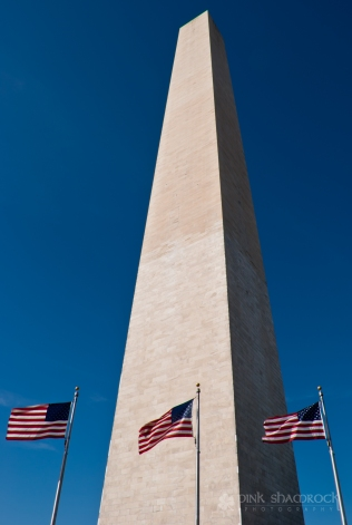 The Washington Monument in Washington, DC.